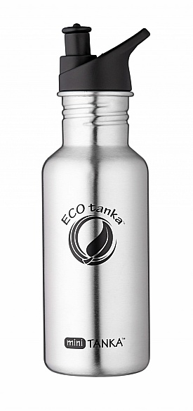 600ml MiniTANKA bottle with Sports Loop lid