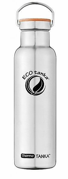 600ml thermoTANKA with Stainless Steel Bamboo Lid