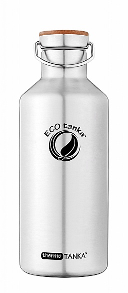 1200ml thermoTANKA with Stainless Steel Bamboo Lid
