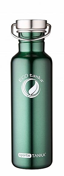 800ml SportsTANKA New Green with modern stainless steel lid