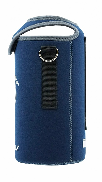 mega 2000ml Kooler Cover Dark Blue Grey Trim