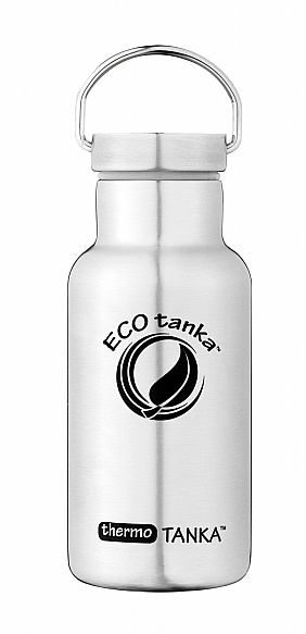 350ml thermoTANKA with Stainless Steel Modern Lid