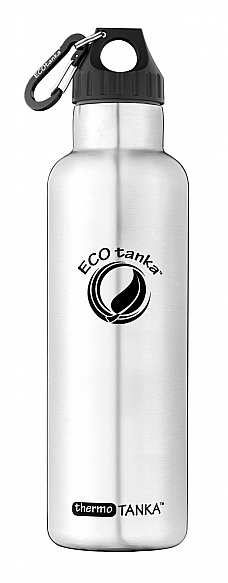 800ml thermoTANKA with Poly Loop Lid with carabiner