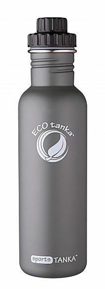 800ml SportsTANKA -Olive Grey with screwTop lid