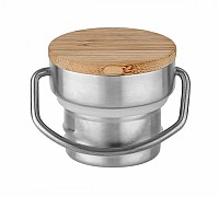 Stainless Steel Bamboo Lid