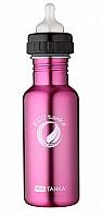 600ml MiniTANKA Pink with adaptor nipple lid